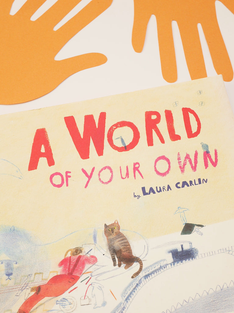 A World of Your Own - Laura Carlin / *SECOND HAND BOOK*
