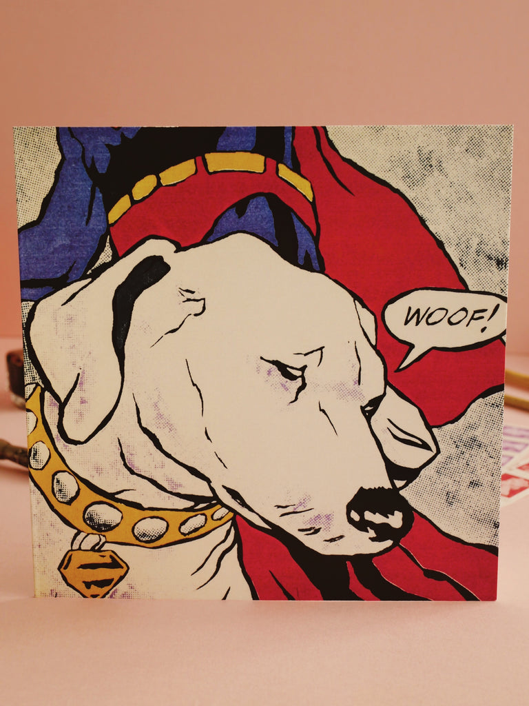 'Lictenstein's Dog' Card