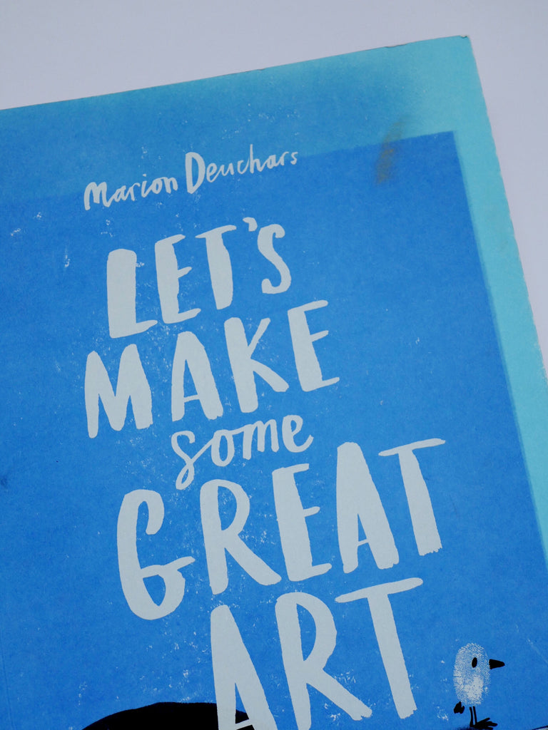 Let's Make Some Great Art-Marion Deuchars / *SECOND HAND BOOK*