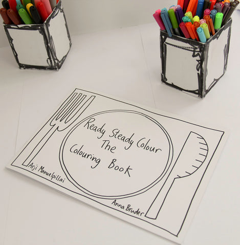 Ready Steady Colour:  The Colouring Book (With complimentary Big Draw Artbox Mini!)