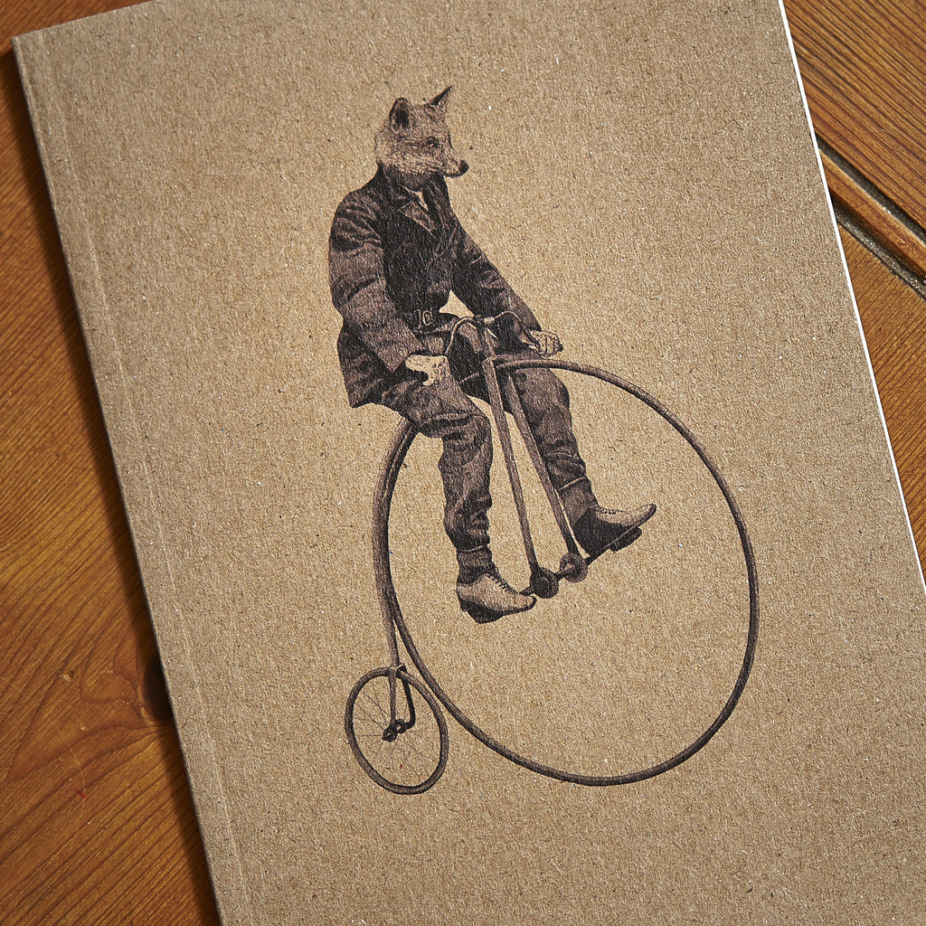 Mr Fox Notebook - Ben Rothery Illustration