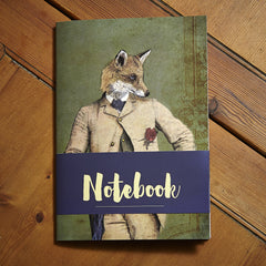 Oswald Notebook - Ben Rothery Illustration