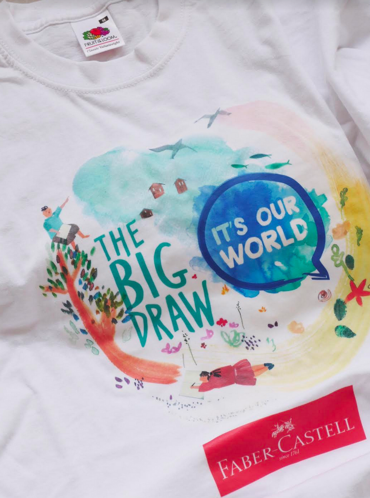 'It's our World' - Official Big Draw T-shirt