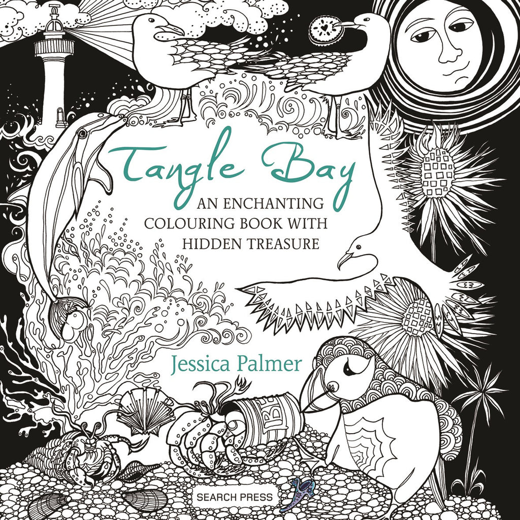 Tangle Bay: An Enchanting Colouring + Activity Book With Hidden Treasures by Jessica Palmer