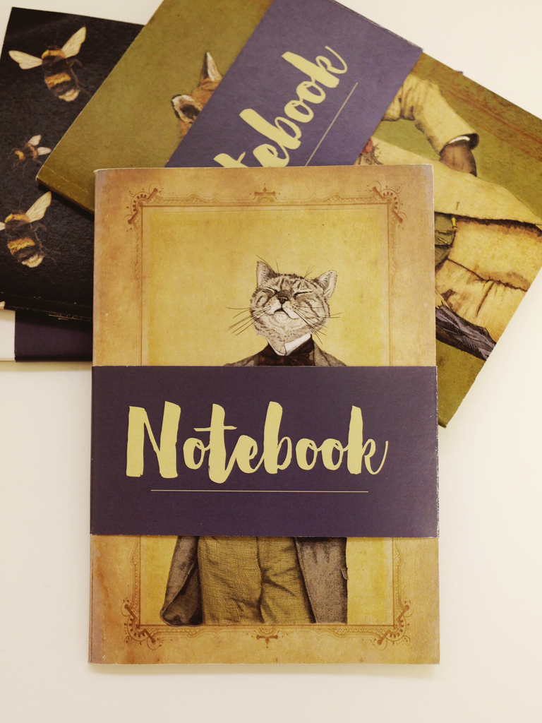 Oscar Notebook - Ben Rothery Illustration