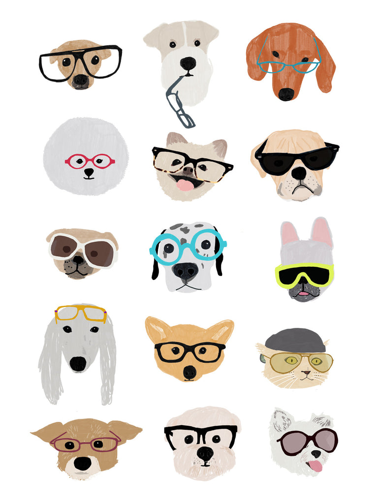 Hanna Melin 'Dogs with Glasses'