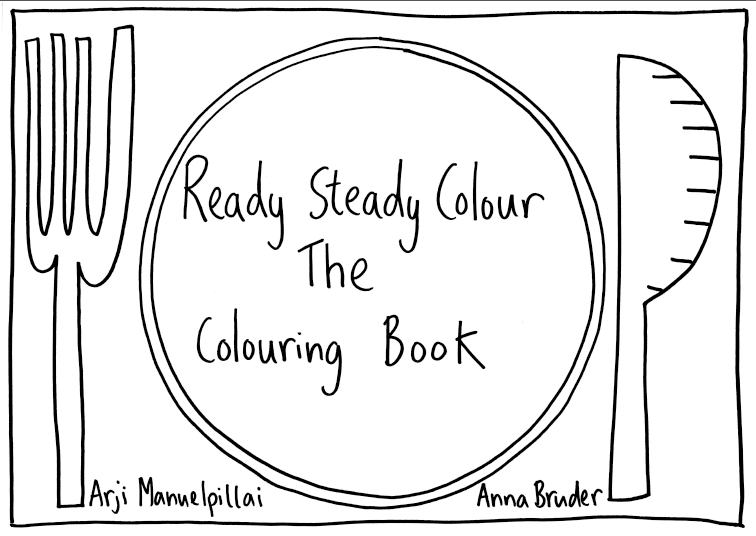 Ready Steady Colour: The Colouring Book (With complimentary Big Draw ...