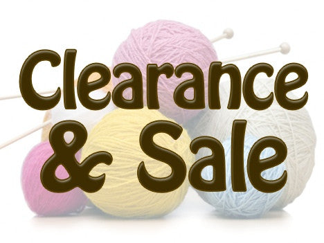 * Clearance and Sale Yarn *