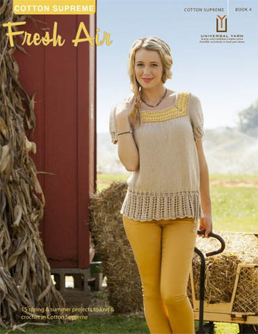Universal Yarns Cotton Supreme Book 4: Fresh Air