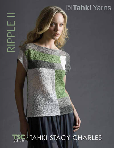 Tahki Yarns Ripple II Pattern Booklet