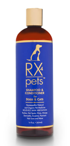 RX 4 Pets Shampoo & Conditioner for Dogs & Cats