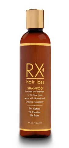 RX 4 Hair Loss Shampoo For Men & Women