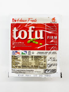 HOUSE TOFU FIRM 14OZ