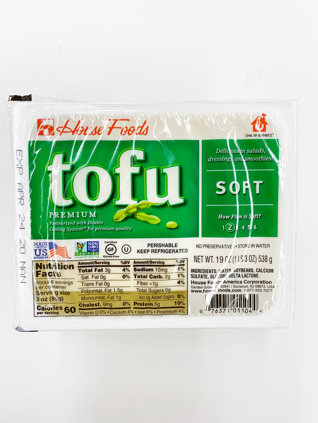 HOUSE TOFU SOFT 19OZ