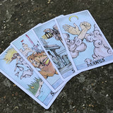 Primeval Tarot Card (2 sets)