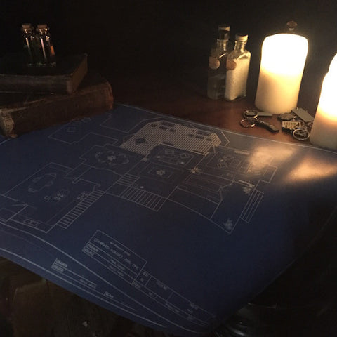 Manor Blueprints