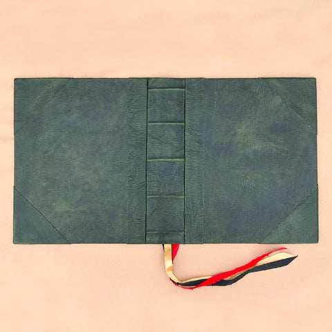 Green Leather Spellbook Cover