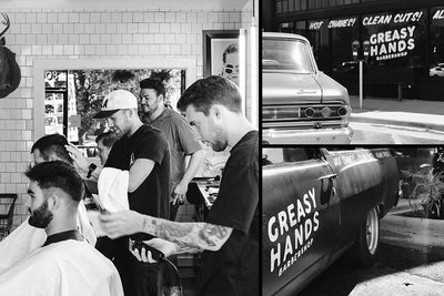 Barbers of the Month: Greasy Hands Barbershop