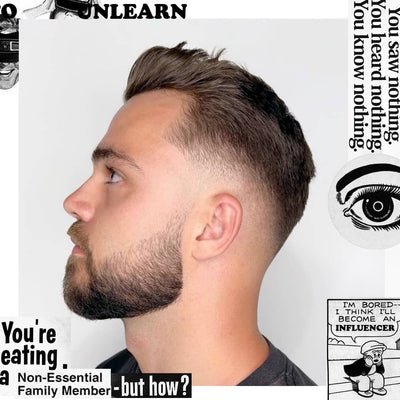 Featured Style: Modern Quiff with Tapered Short Beard