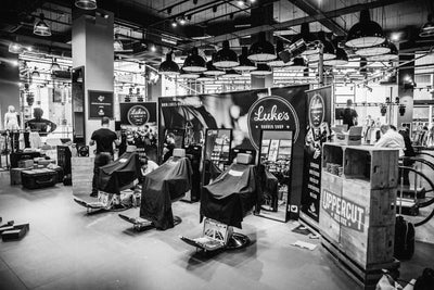 Luke's Barbershop at Foot Locker