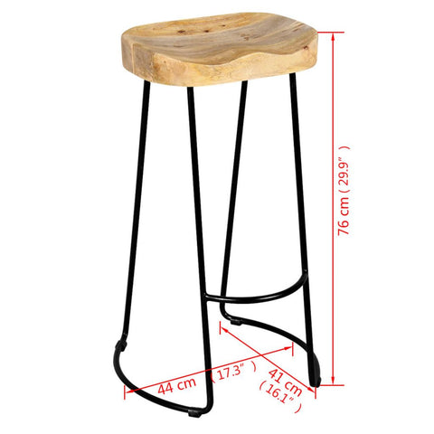 Mango Bar Stools Set Of 2
