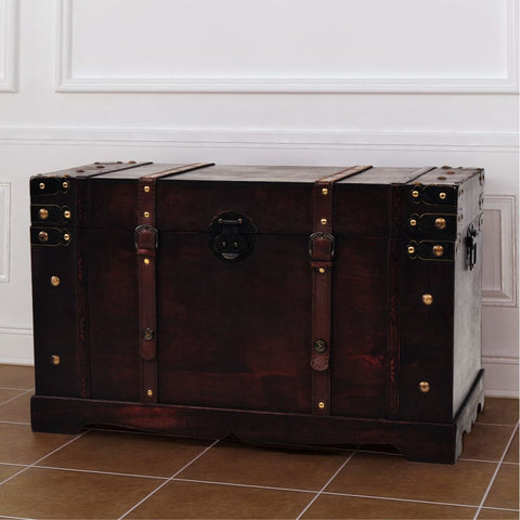 Vintage Treasure Chest Storage