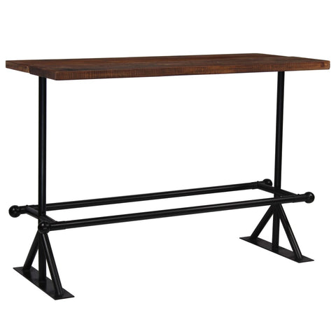 Antique-Style Bar Table