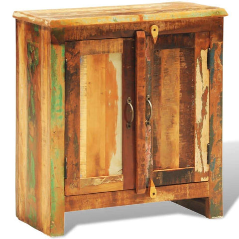 Antique Style Reclaimed Wood Cabinet
