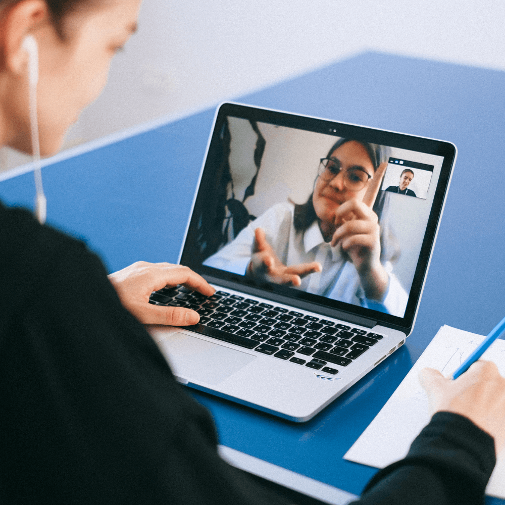 video chat meeting