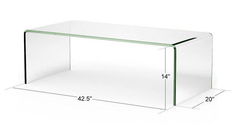 RICO Tempered Glass Coffee Table