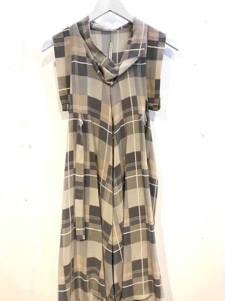 Scanlan Theodore Check Tunic Size 8