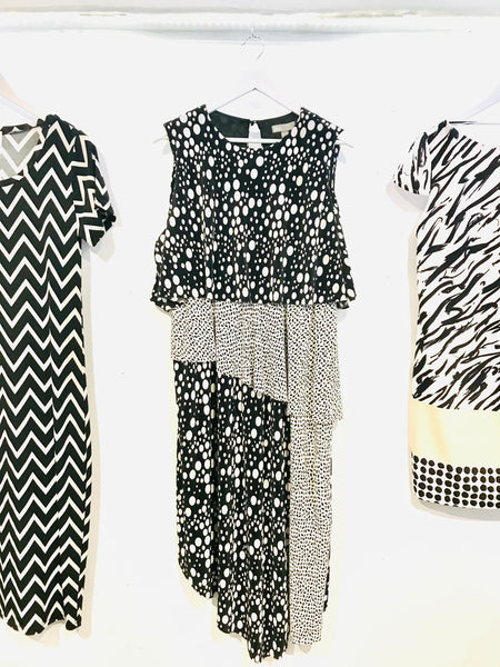 ASOS layered Black and White Size 14 to 16