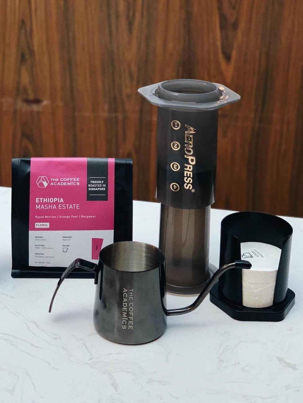 Brewing Bundle: Aeropress Starter Kit
