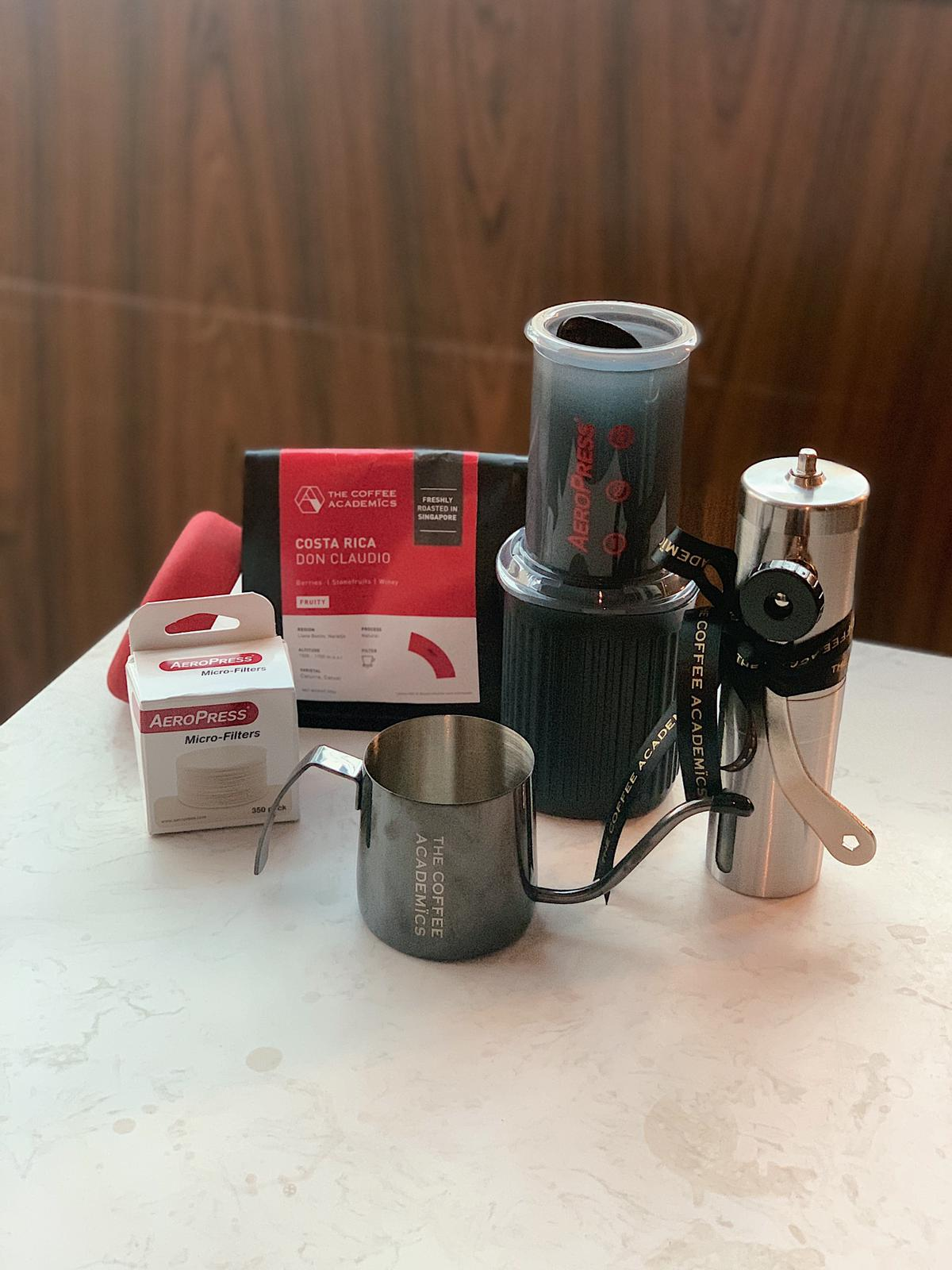 Brewing Bundle: Aeropress GO Starter Kit