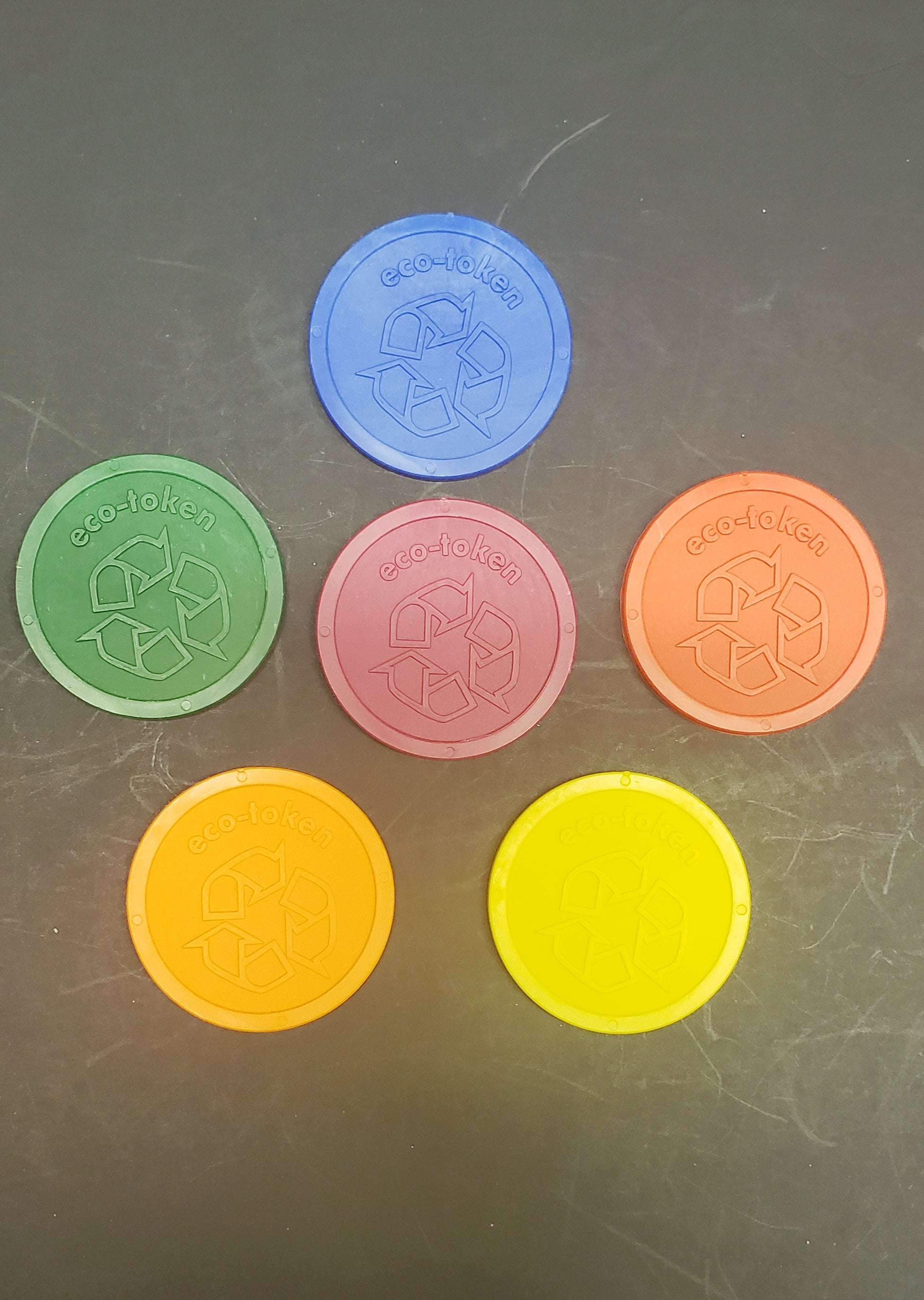 Biodegradable Eco Tokens