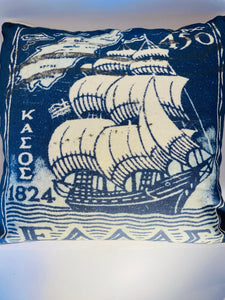 CAM - Coast Cushion Tall ship 45x45 cm