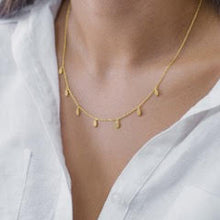 Load image into Gallery viewer, Jolie and Deen Jewellery - Tear Drop Necklace