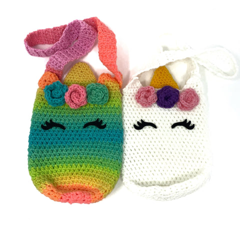 Unicorn Purses - Crochet City