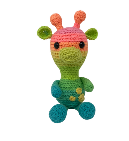 Cassie the Giraffe - Crochet City