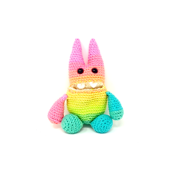 Taylor the Little Hungry Monster - Crochet City