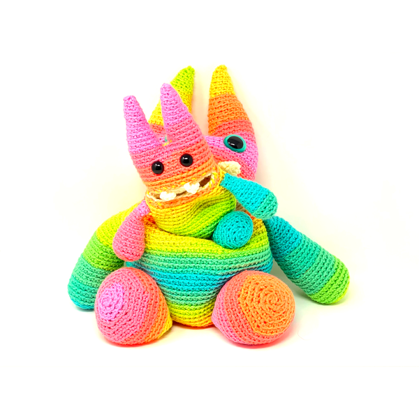 Ava the Large Hungry Monster - Crochet City