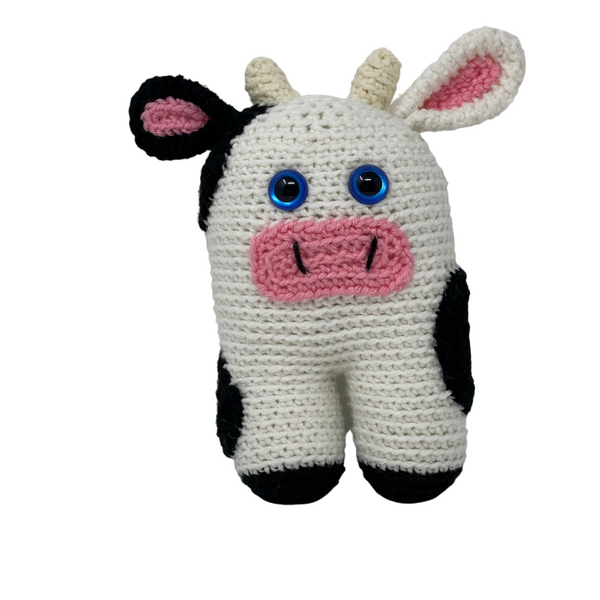 Elaine the Cow - Crochet City