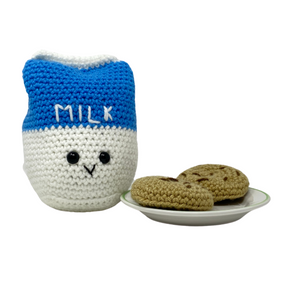 Milk and Cookies - Crochet City