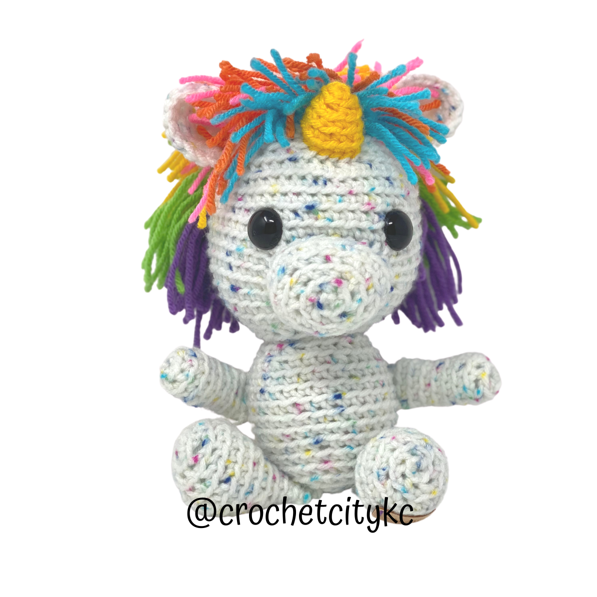 Ella the Unicorn - Crochet City