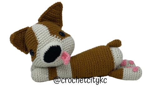 Hazel the Corgi - Crochet City