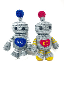 Steven the Sporty Robot - Crochet City