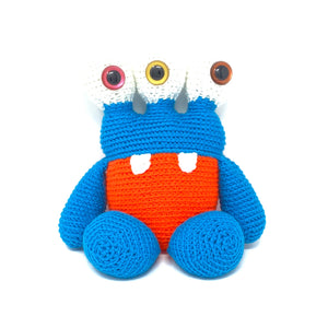 Samantha the Three Eyed Monster - Crochet City