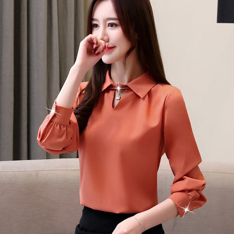 Fashion womens tops and blouse office work wear