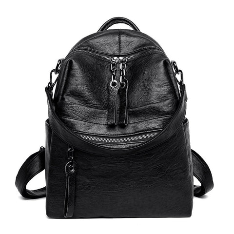 New Vintage Women Leather Backpacks