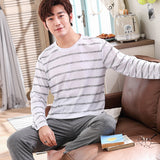 Men's Pajamas Spring Long Sleeve